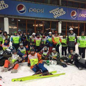 Groepsfoto met CIOS studenten en deelnemers