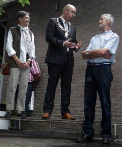 Karel Nouwen wordt geridderd - toespraak door de burgemeester