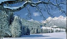 Sneeuwlandschap St Ulrich
