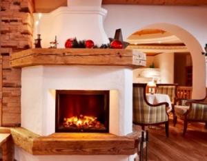 Open haard hotel Tauernblick Bramberg
