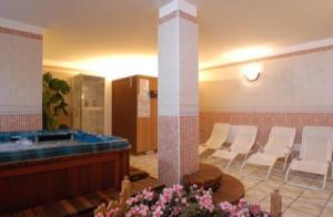 Saunaruimte hotel Savoia