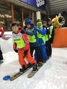 Jongerendag SnowWorld - vijfpersoons loopski