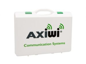 Axiwi koffer met communicatie systeem