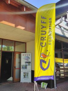 Sponsorvlag Cruyff Foundation - kennismakingsdag