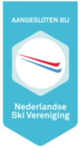 Logo waarmee we laten zien dat we aangesloten zijn bij de Nederlandse SkiVereniging